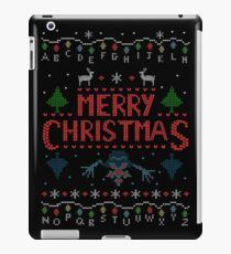 MERRY CHRISTMAS FROM THE UPSIDE DOWN! #2 iPad Case/Skin