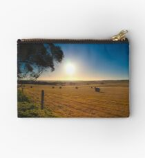 Hay Bales Studio Pouch
