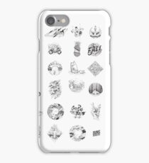 Small ink illustrations iPhone Case/Skin