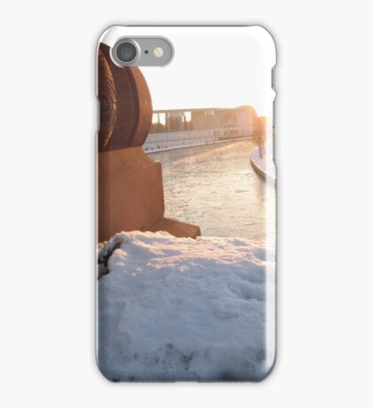Looking over the River Slee iPhone Case/Skin