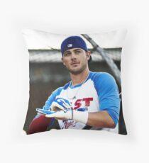 Kris Bryant- Chicago Cubs  Throw Pillow