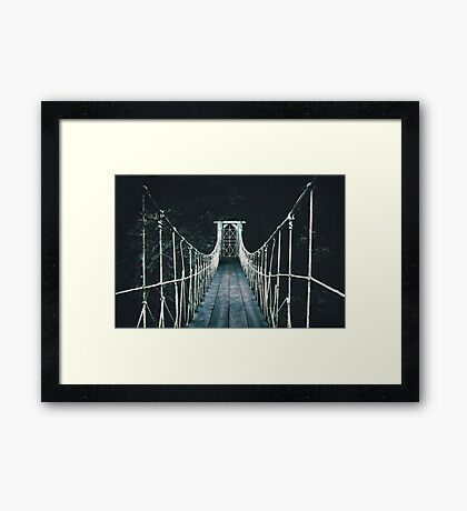 Into Mystery Framed Print