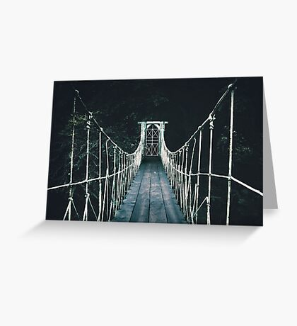 Into Mystery Greeting Card