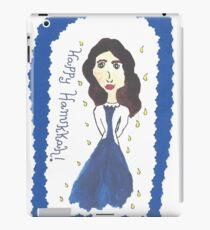 Hanukkah Girl iPad Case/Skin