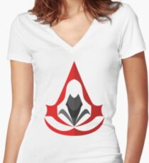 Assassins Creed Women's Fitted V-Neck T-Shirt