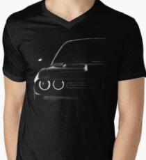 dodge challenger 2015, black shirt Men's V-Neck T-Shirt