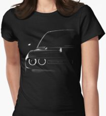 dodge challenger 2015, black shirt Women's Fitted T-Shirt