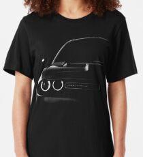 Ausweichen Herausforderer 2015, schwarzes Hemd Slim Fit T-Shirt