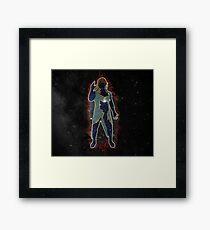 Hiroshi Tanahashi - Ace of the Galaxy Framed Print