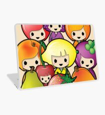 Fruit Kokeshi Dolls Laptop Skin