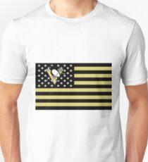 Penguins Hockey Flag Unisex T-Shirt