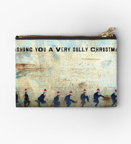 Ministry of Silly Christmas - WITH TEXT Studio Pouch