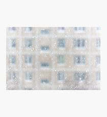 Snowfall in a big city Photographic Print