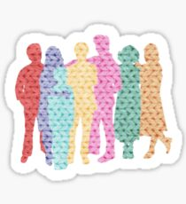A Tight-Knit Family Sticker
