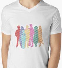 A Tight-Knit Family Men's V-Neck T-Shirt