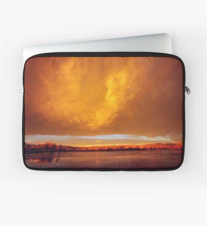 Flash At Sunrise Laptop Sleeve