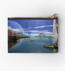 Tranquility Harbor Studio Pouch