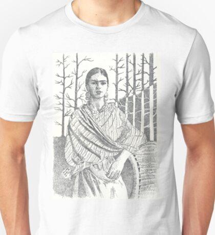 Frida Khalo and trees T-Shirt