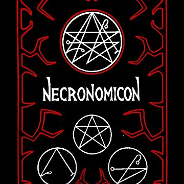 Necronomicon Red by Sith-Grotto