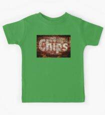 Chips Brick Wall Kids Tee