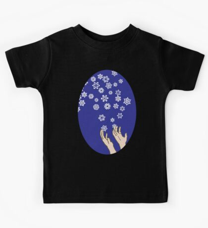 First Snow Night Snowflakes Kids Clothes