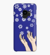 First Snow Night Snowflakes Case/Skin for Samsung Galaxy
