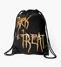 Trick or Treat Drawstring Bag