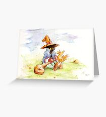 FF IX - Bibi / Vivi Greeting Card