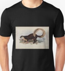 Gleanings from the menagerie and aviary at Knowsley Hall Edward Lear John Gray 1850 011 Ielerang or Javan Squirrell T-Shirt