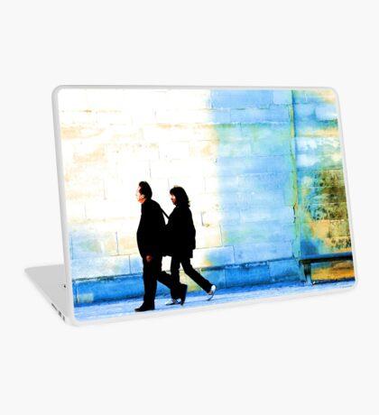 Twilight walk in the Jardin des Tuileries Laptop Skin