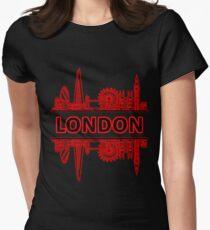 London City UK (Black Red) T-Shirt