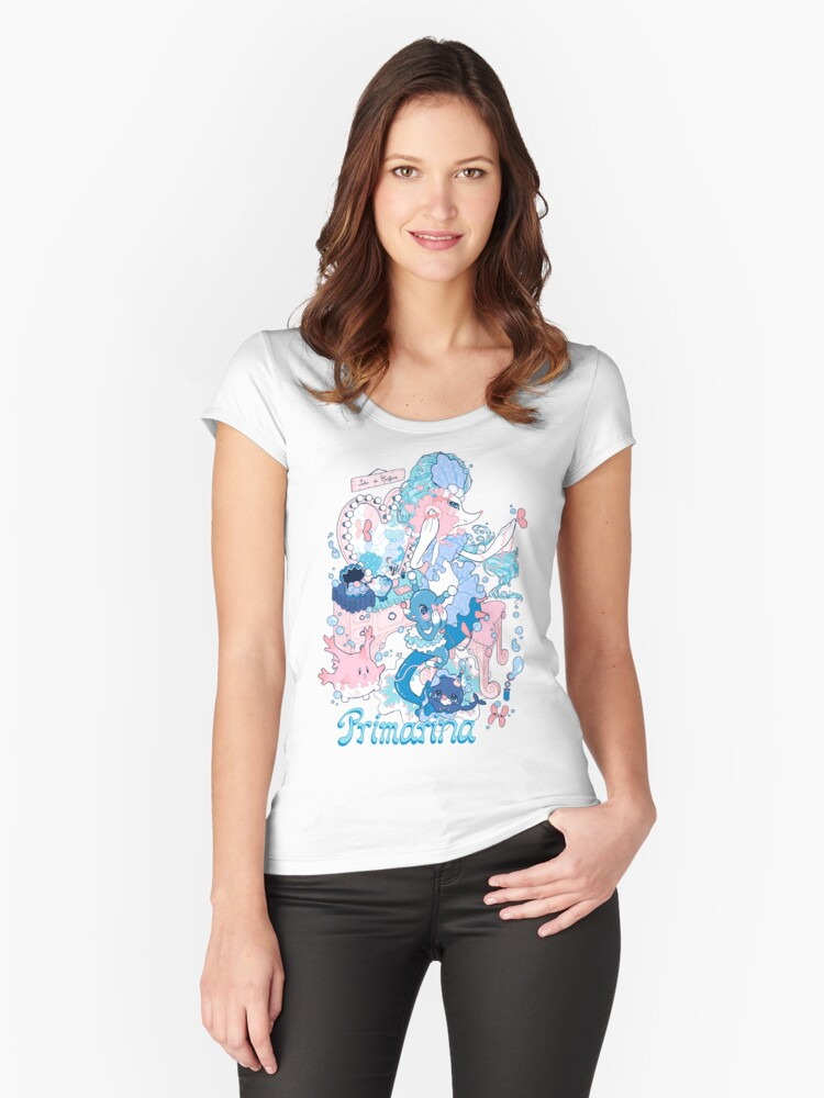 Starter's family: Primarina Women's Fitted Scoop T-Shirt Front