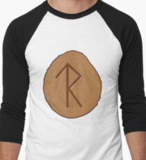 Legal Success Bind Rune Wooden Men's Baseball ¾ T-Shirt