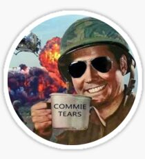 Pegatina Commie Tears