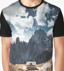 tre cime di lavaredo landscape Graphic T-Shirt