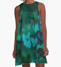 Abstract desing A-Line Dress