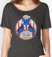 Grab Them By The Cookies Women's Relaxed Fit T-Shirt