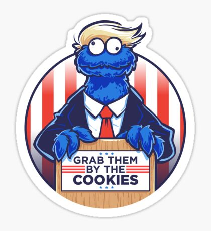 Grab Them By The Cookies Sticker