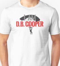 I Am DB Cooper - White Clean T-Shirt