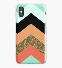 Chevron pattern iPhone Case