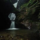 Nectans Glen Waterfall by Paul  Eden