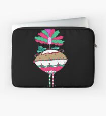 Silly Christmas Pudding Laptop Sleeve