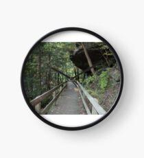 Rock overhang at Mill Creek Park Clock