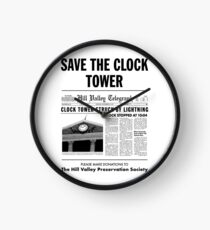Save the clock tower fan art Clock