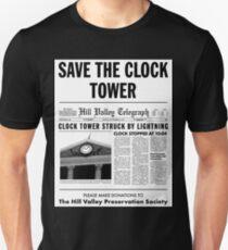 Save the clock tower fan art T-Shirt