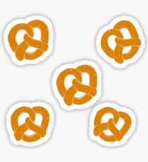 Pretzel pattern Sticker