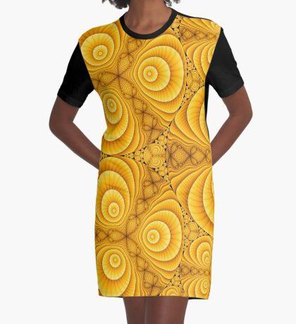 Apollonian Gasket Julia 001 Graphic T-Shirt Dress