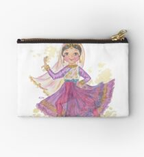 South Asian Dancing Doll Studio Pouch