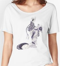 Inky Queen of the Orient Relaxed Fit T-Shirt
