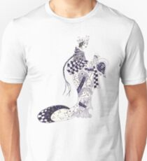Inky Queen of the Orient Slim Fit T-Shirt